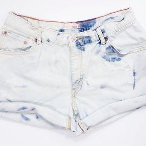 Vintage High Waist Levi's Cutoffs Shorts